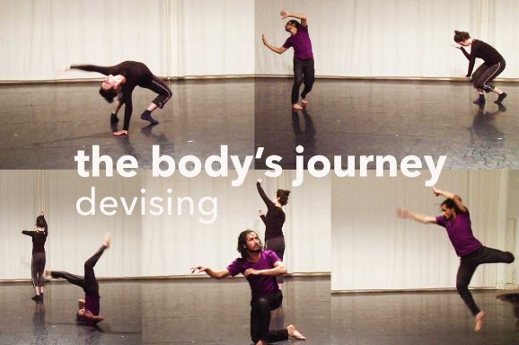 The Body's Journey – Devising