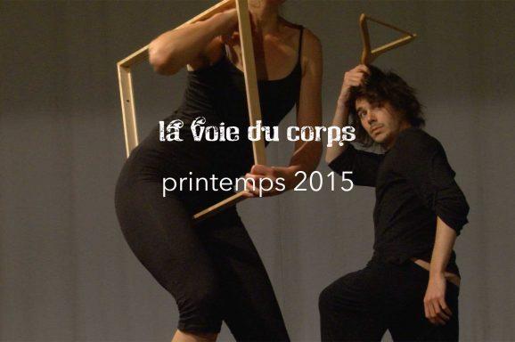 La Voie du Corps 2015 printemps