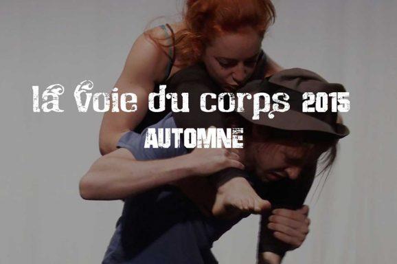 La Voie du Corps 2015 automne