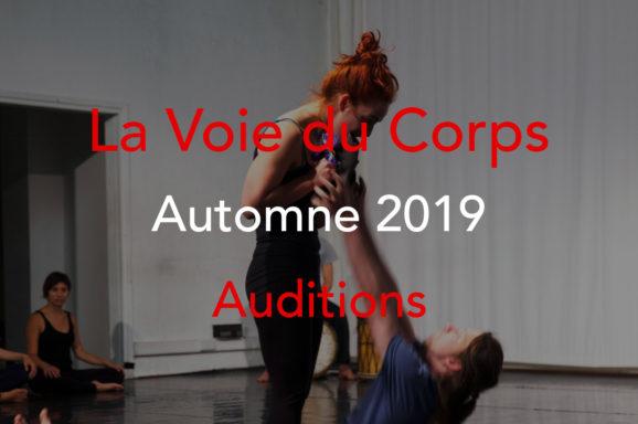 La Voie du Corps automne 2019